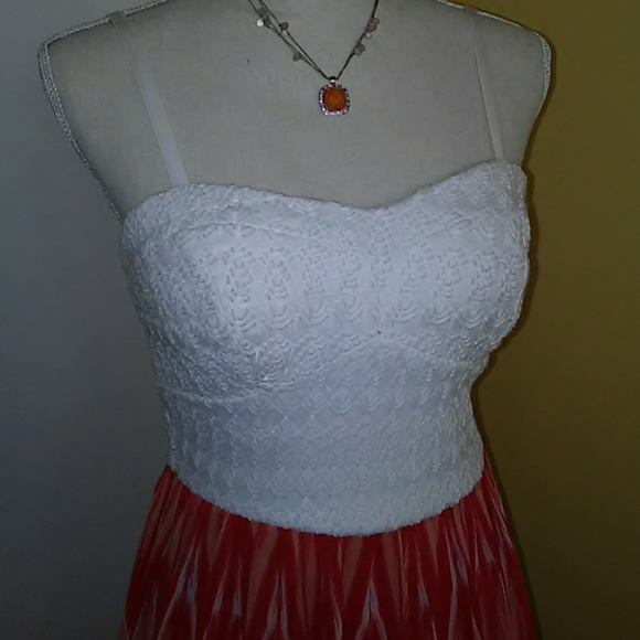 Lily rose geometric maxi dress